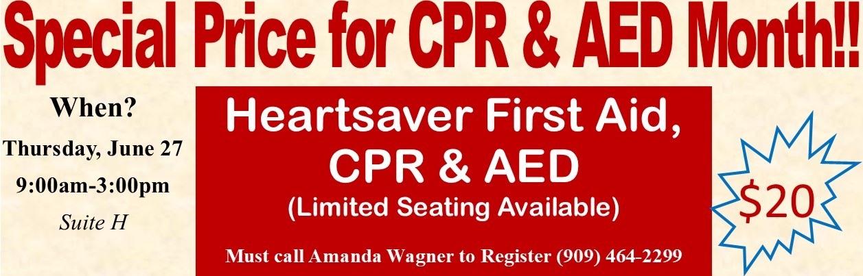 Heartsaver CPR AED Special